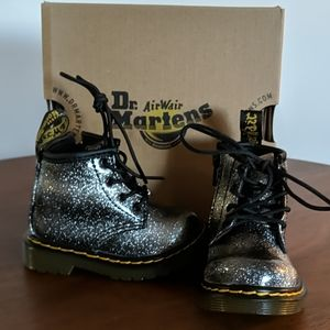Dr Martens Ombre Glitter Boot for Baby NEW